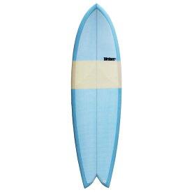 【BIRDOM SURFBOARDS THE FISH 6'8】サーフボード