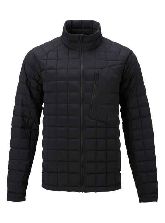バートン 18モデル メンズ ダウン Burton [ak] BK Lite Down Insulator Jacket True Black スノーボード