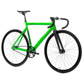 ピストバイク 完成車 STATEBICYCLE 6061 BLACK LABEL V2 ZOMBIE GREEN ステイトバイシクル【自転車 バイク スポーツバイク 完成品 アルミ 軽量 カスタム カスタムバイク ベース フリーギア 固定ギア 初心者 シンプル おしゃれ 緑 グリーン】