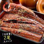うなぎ蒲焼き国産大サイズ170g×2尾ウナギ鰻