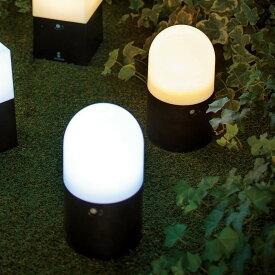 【よりどり対象(3点以上送料無料)】電池式LED人感センサーライト2個組・丸 LR5286