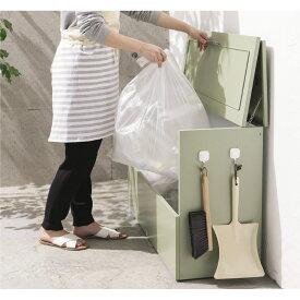 ガーデニング フラワー ガーデニング用品 エクステリア ゴミ箱 ゴミ保管庫 欧風ダストボックス 奥行37cm LR0734