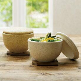 伊賀焼長谷園 陶器のおひつ陶珍 1合用 702006