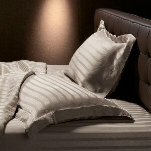 ベッド 寝具 布団 布団カバー シーツ類 機能カバーリング 1枚(オールシルクシリーズ サテン織りピローケース グレージュ) 544723