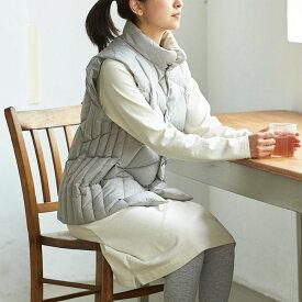 ファッション コート ダウンベスト 西川/あったか西川ダウンベスト(男女兼用) GF0735