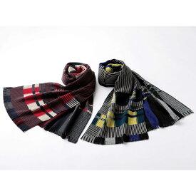 バッグ 靴 アクセサリー メンズファッション雑貨 メンズ帽子 マフラー 手袋 [メンズ]仏製マルチボックスマフラー GF0805