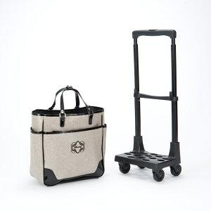 インテリア雑貨 日用品 生活雑貨 便利グッズ ショッピングカート キャリーカート SWANY(スワニー)/支えるショッピングキャリーバッグ モノグラーモ・C M18 NV3319