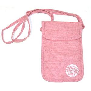 旅行用品 ホビー ペット 旅行用小物 ポーチ サブバッグ 地球の歩き方×たかのてるこ 旅袋 ネックタイプ NV3757