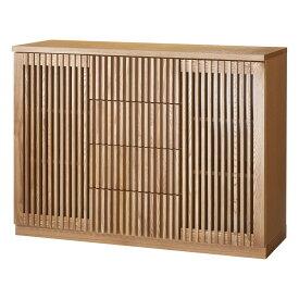 家具 収納 リビング収納 テレビ台 キャビネット リビングボード 和モダン 格子 リビング収納 シリーズ リビングボード 587608