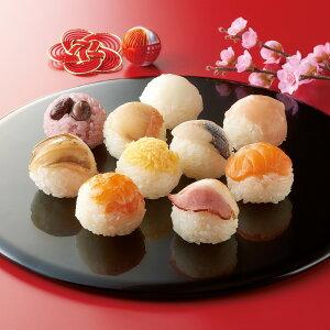 「銀座割烹里仙」監修 てまり寿司 (10種×3パック) 【通常お届け】 FK4310