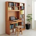 家具 収納 ホームオフィス家具 ユニットデスク 本好きの為のデスクシリーズ デスク本体 幅90cm 571502