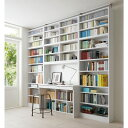 家具 収納 ホームオフィス家具 ユニットデスク 本好きの為のデスクシリーズ シェルフ 幅45cm 571505