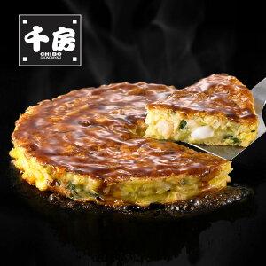 グルメ 食品 お米 パン 麺類 千房 海鮮お好み焼(いかえび玉) (8枚) FG9111