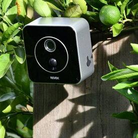 インテリア雑貨 日用品 防災用品 防犯用品 防犯グッズ 防犯カメラ リーベックス液晶画面付きセンサーカメラ WB0524