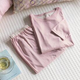ベッド 寝具 布団 パジャマ 寝具小物 ネグリジェ 肌側がシルクのリラックスウェア レディース WJ0560