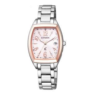 バッグ 靴 アクセサリー レディース腕時計 CITIZEN/シチズン xC(クロスシー) HAPPYFLIGHT トノー エコ・ドライブ電波時計 多極受信型 ES9390-57W R12545