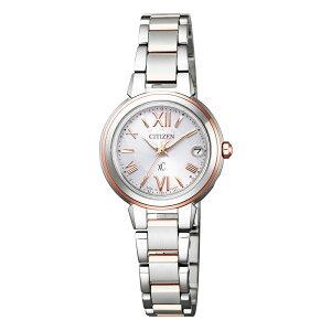 バッグ 靴 アクセサリー レディース腕時計 CITIZEN/シチズン xC(クロスシー) HAPPYFLIGHT エコ・ドライブ電波時計 多極受信型 ES9434-53W R13106
