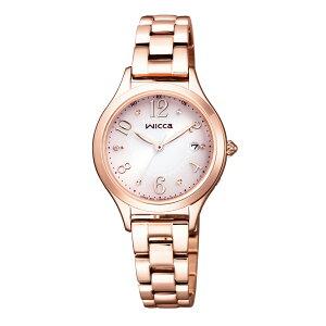 バッグ 靴 アクセサリー レディース腕時計 CITIZEN/シチズン WICCA(ウィッカ) ソーラーテック電波時計 KS1-261-91 R13122