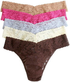 Hanky Panky ハンキーパンキー ローライズソング Tバック ショーツ 5枚組セット クラシックカラーLow-rise song T-bag shorts 5-disc set classic color