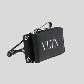 Valentino ヴァレンティノ VLTN ブラック ウォレット VLTN Black Wallet