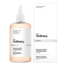 The Ordinary ジオーディナリー グリコール酸 7% トーニングソリューション Glycolic Acid 7% Toning Solution 240ml