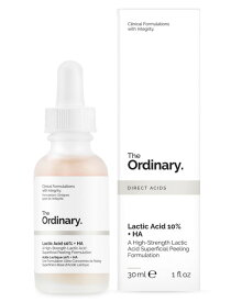 The Ordinary ジオーディナリー 乳酸10% + ヒアルロン酸2% スパーフィシャル ピーリング フォーミュレーション Lactic Acid 10% + HA 30ml