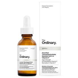 The Ordinary ジオーディナリー テトラヘキシルデカン酸アスコルビル ソリュ—ション - ビタミンF 20% Ascorbyl Tetraisopalmitate Solution 20% in Vitamin F 30ml