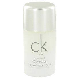 CALVIN KLEIN カルバンクライン シーケーワン デオドラントスティック Ck One Deodorant Stick 75g