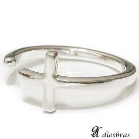 シルバー925 シルバーリング  メンズ クロス 十字架 シンプルクロス 極小 スターリングシルバー ゴシック 指輪 ring silver925 銀 シルバーアクセサリー 男性 女性 レディース 極小 シンプル【メール便なら全国送料無料】