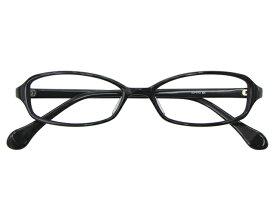 メガネ 度付き/度なし/伊達メガネ セルフレーム(プラスチック) スクエア ブラック 黒 黒ぶち メガネセット 3LP013-BK【金子眼鏡】【薄型レンズ付】【ケース付】【送料無料】