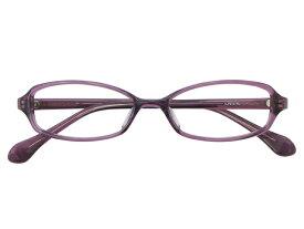 メガネ 度付き/度なし/伊達メガネ セルフレーム(プラスチック) スクエア パープル メガネセット 3LP013-PL【金子眼鏡】【薄型レンズ付】【ケース付】【送料無料】
