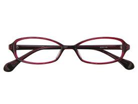 メガネ 度付き/度なし/伊達メガネ セルフレーム(プラスチック) スクエア ワインレッド メガネセット 3LP013-WN【金子眼鏡】【薄型レンズ付】【ケース付】【送料無料】