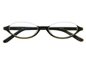 アンダーリム 逆ナイロール(セルフレーム) メガネ 度付き/度なし/伊達メガネ オーバル カーキ グリーン メガネセット EC001-KH【金子眼鏡】【薄型レンズ付】【ケース付】【送料無料】