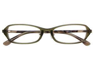メガネ 度付き/度なし/伊達メガネ セルフレーム(プラスチック) スクエア 超軽量弾性樹脂 TR-90 カーキ メガネセット 9UP002-KH【金子眼鏡】【薄型レンズ付】【ケース付】【送料無料】