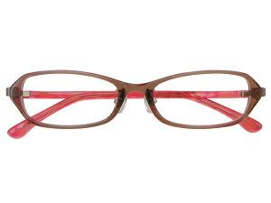 メガネ 度付き/度なし/伊達メガネ セルフレーム(プラスチック) スクエア 超軽量弾性樹脂 TR-90 ライトブラウン メガネセット 9UP002-LBR【金子眼鏡】【薄型レンズ付】【ケース付】【送料
