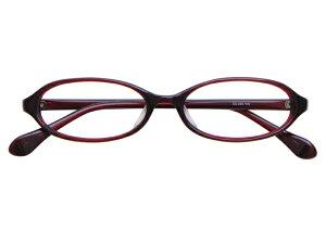 メガネ 度付き/度なし/伊達メガネ セルフレーム(プラスチック) オーバル ワインレッド メガネセット EC006-WN【金子眼鏡】【薄型レンズ付】【ケース付】【送料無料】
