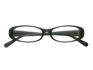 メガネ 度付き/度なし/伊達メガネ セルフレーム(プラスチック) オーバル グレー メガネセット EC007-GY【金子眼鏡】【薄型レンズ付】【ケース付】【送料無料】