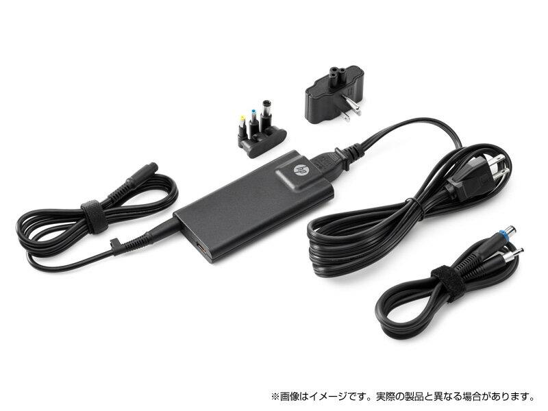 <ACアダプター> HP 65W スリムACアダプター(USBポート付)(G6H47AA#ABJ)(USBポート/変換コネクター付) *HP ENVYシリーズ、HP Pavilionシリーズ、HP 17シリーズ専用となります。