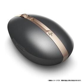 HP Spectreマウス 700 (ブラック) (型番:3NZ70AA#UUF) Bluetooth 4.0 (以降) または 2.4GHzワイヤレス接続に対応 付属のUSBケーブルで充電が可能