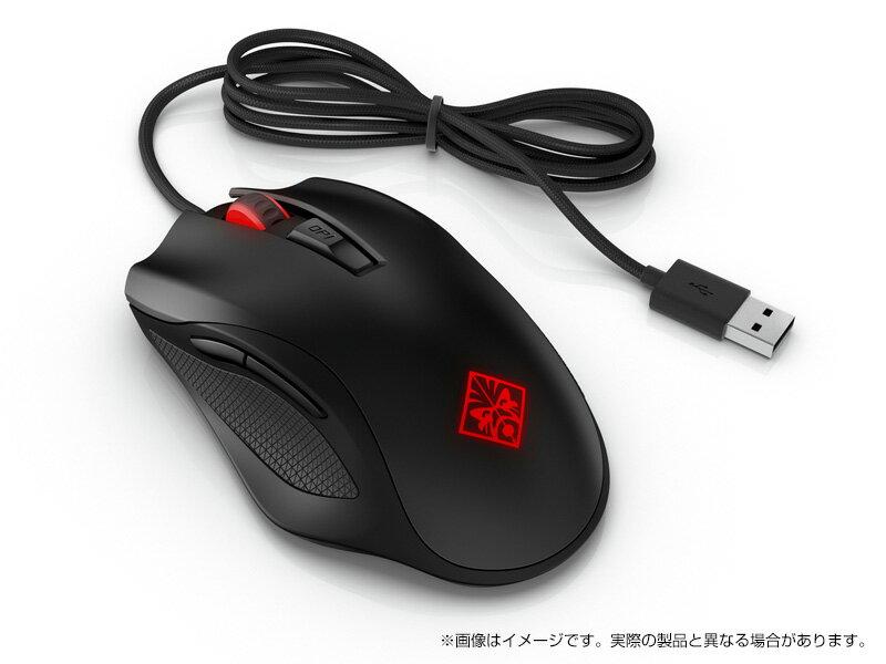 <ゲーミングアクセサリ>OMEN by HP ゲーミングマウス 600(1KF75AA#UUF)