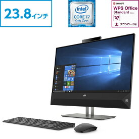 Core i7 16GBメモリ 256GB PCIe SSD + 2TB HDD 23.8型 タッチ液晶 HP Pavilion All-in-One 24(型番:6DU76AA-AAAI)オールインワンパソコン デスクトップパソコン 液晶一体型 パソコン 新品 office付