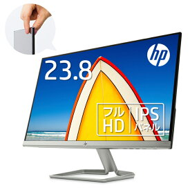 【20日限定10%OFFクーポン&エントリーでポイント10倍】 【IPSパネル】HP 24fw(型番:3KS62AA#ABJ)(1920 x 1080 1677万色) 液晶ディスプレイ 23.8インチ 超薄型 省スペース フルHD ディスプレイ モニター 新品 PCモニター ゲーミングモニター