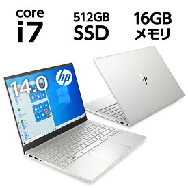 Core i7 16GBメモリ 512GB SSD PCIe規格 14.0型 ・WUXGAブライトビュー タッチ HP ENVY 14-eb (型番:308Y5PA-AAAA) ノートパソコン オフィス付き 新品