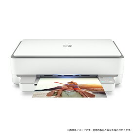 HP ENVY 6020(型番:7CZ37A0-AAAD)インクジェット プリンター スタイリッシュ スマホから印刷 スリムボディ 世界シェアNo.1インクジェットプリンターメーカー