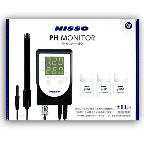 ニッソー PHモニターNEO 高測定精度 水質測定器 NCM-04 ペーハーモニターネオ PH測定器 ペーハー測定器