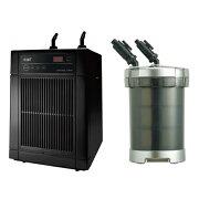 「GEXクールウェイBK210」と「GEXメガパワー9012」のセット水槽用クーラーと水槽用外部フィルター