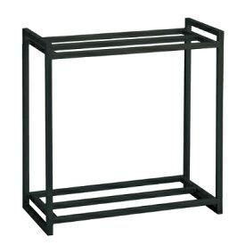 GEX 60cm 水槽用 組立 2段台 (ブラック) 水槽台 キャビネット スチール台 品番:17056