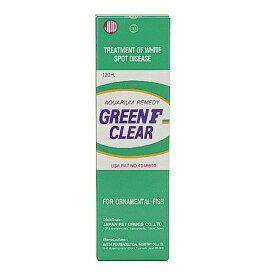 日動 グリーンF クリアー 120ml 液体タイプ 白点病治療薬 無色透明 鑑賞魚用 魚病薬