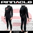 [男性用]PINNACLE[ピナクル]5mmウェットスーツ足首ファスナー付CRUISER[クルーザー]ウエットスーツ[フルスーツ]Pinnacleaquatics【RCP】