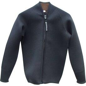 【全国送料無料!】deepoutdoors ディープアウトドア 3mm ジャケット Jacket ウェットジャケット M-W XL-W ネオプレーン ウエット フロントジップ deepoutdoors